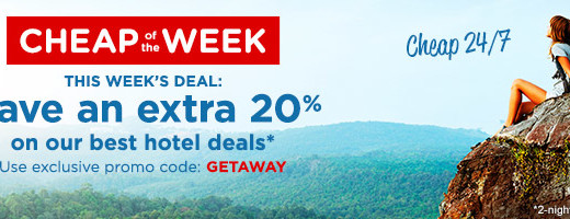 Cheaptickets-getaway-promo-code